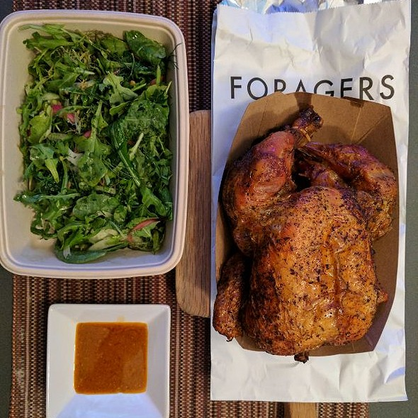 Foragers Roast Chicken And Herb Salad