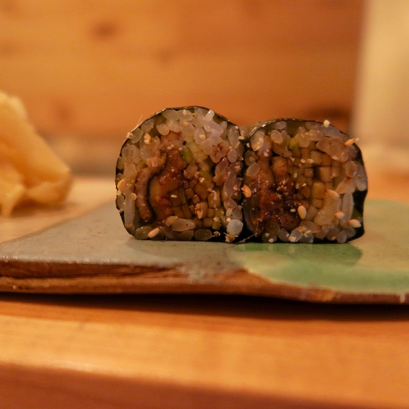 Anago (Sea Eel) Roll With Cucumber
