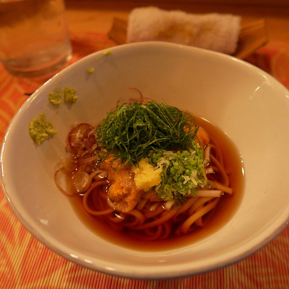 Soba Noodles With Hokkaido Uni