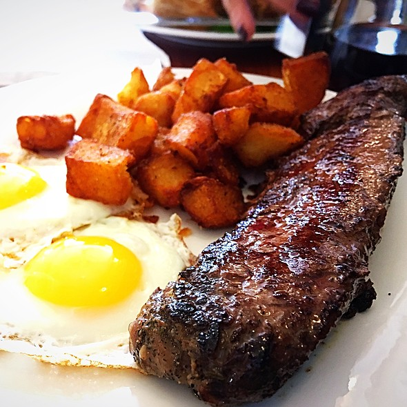Steak and Eggs @ Shanes Cafe