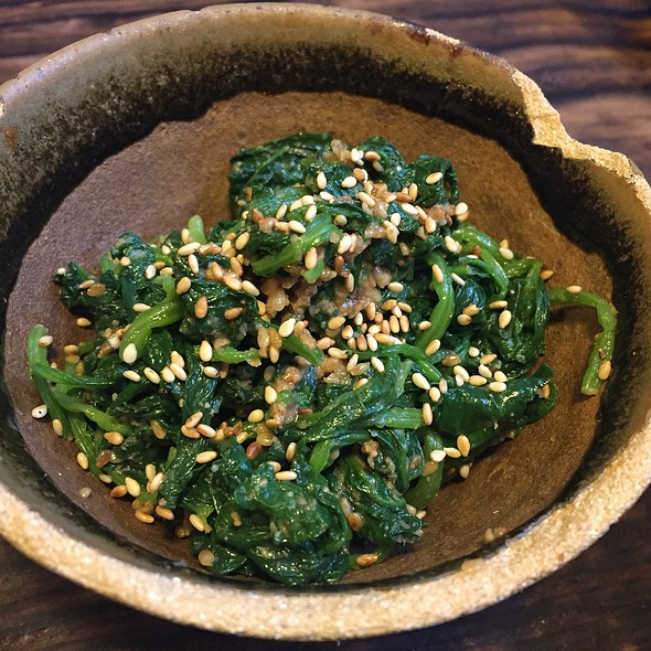 Miso Spinach