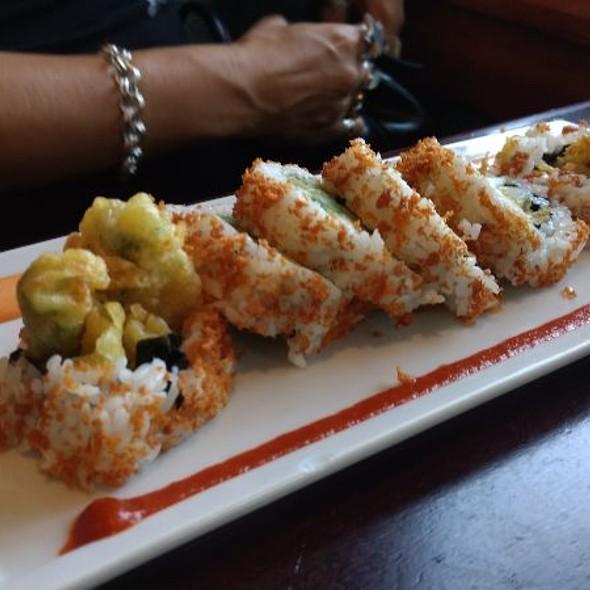 Roasted Veggies Roll @ Kabuki Japanese Restaurant