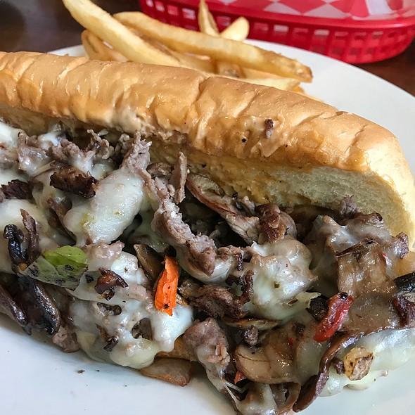 Cheesesteak Sandwich @ Capital City Brewing Company