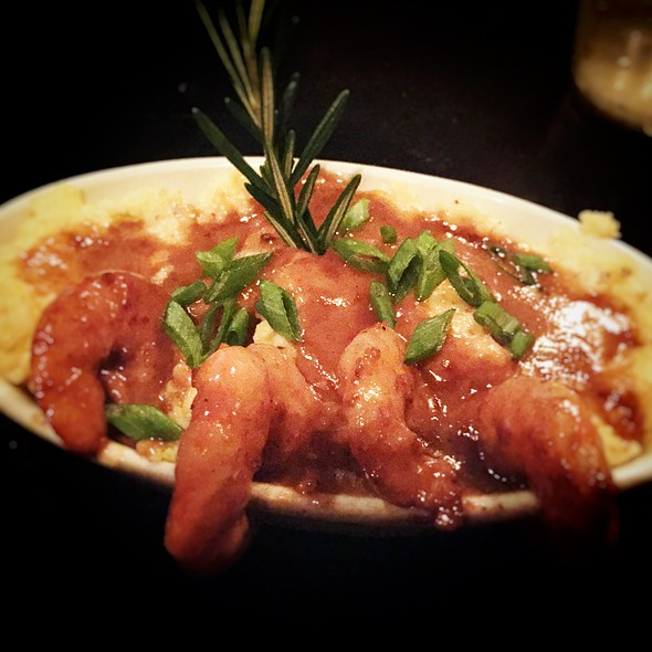 Shrimp & Grits @ Richard Fiske's Martini Bar And Restaurant