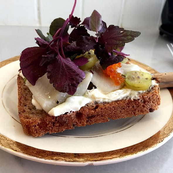 Swedish Open-Faced Sandwich @ Maurice