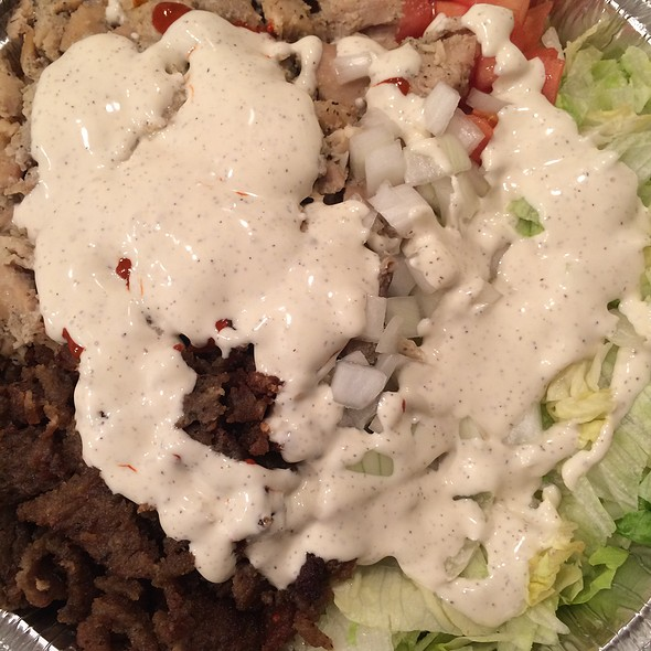 Gyro And Chicken Over Rice