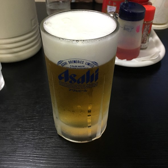 生ビール @ 中華料理 海道
