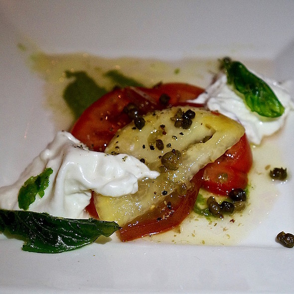 Heirloom tomatoes with Burrata @ Chicago Cut Steakhouse