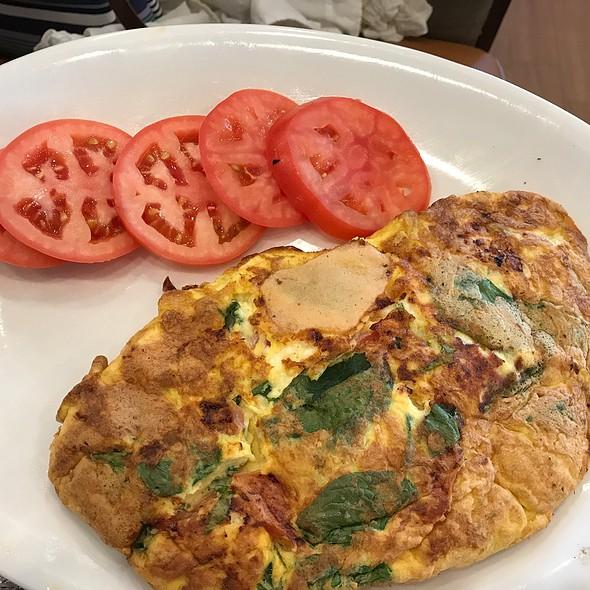 Spinach & Feta Omelette @ Kappy's Pancake House Restaurant