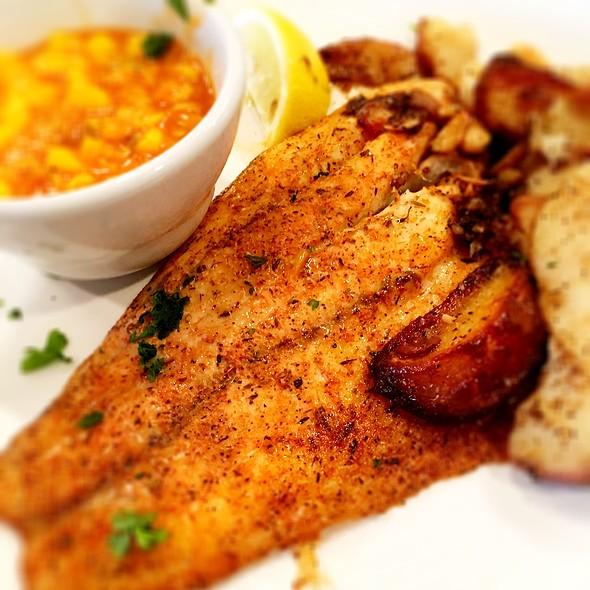 Cajun Baked Sea Bass @ Drago's Seafood Restaurant