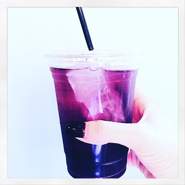 Iced Blackberry Jasmine Tea