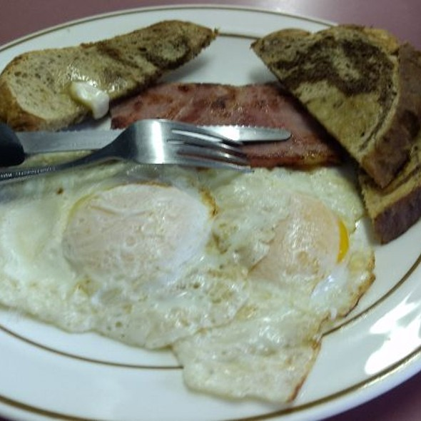 Ham And Eggs @ Donut Cafe