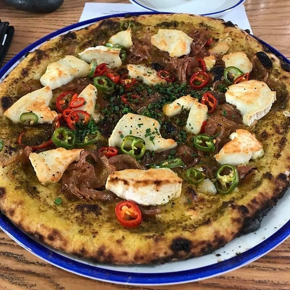 Pizza With Chilli And Goat Cheese