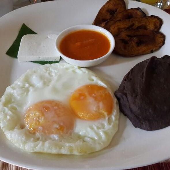 Typical Guatemala Breakfast