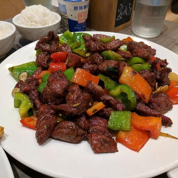 Szechuan Flank Steak