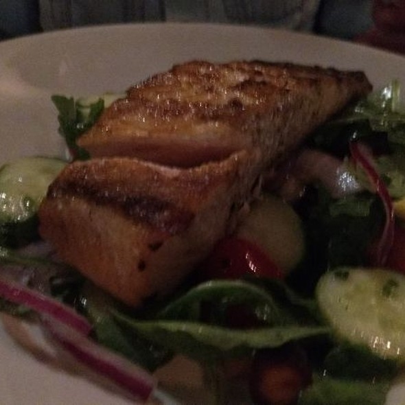 Grilled Salmon @ Ports of Italy