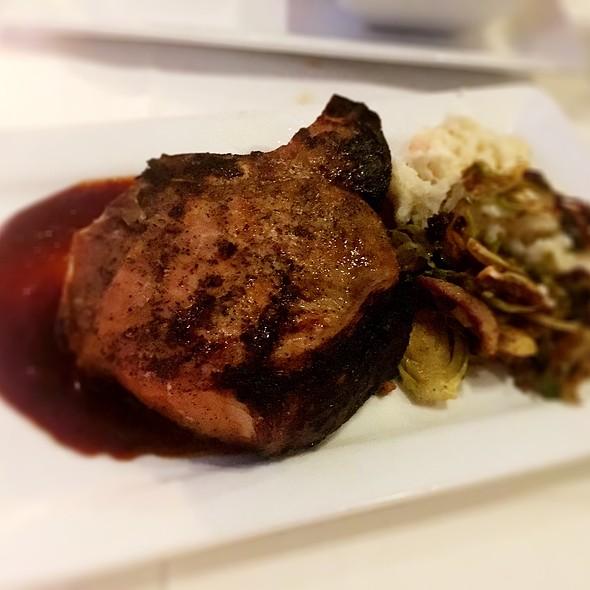 Double Cut Porkchop @ The Castle Restaurant & Pub