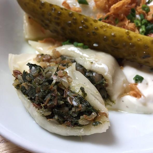 Buckwheat & Spinach Pierogi