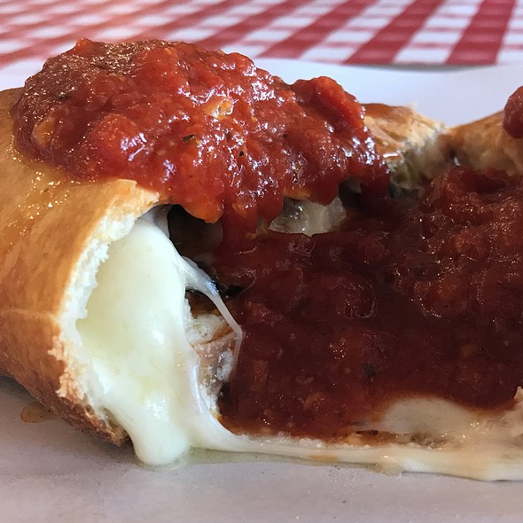 Meatlovers Calzone