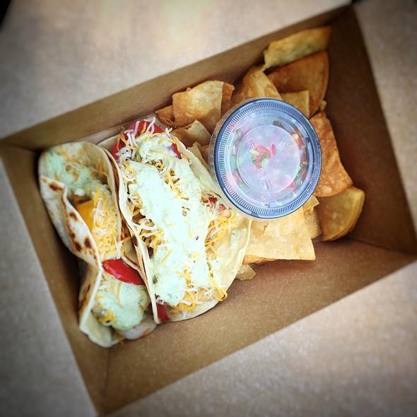 Shrimp Baja Tacos @ Murican Border Food Truck