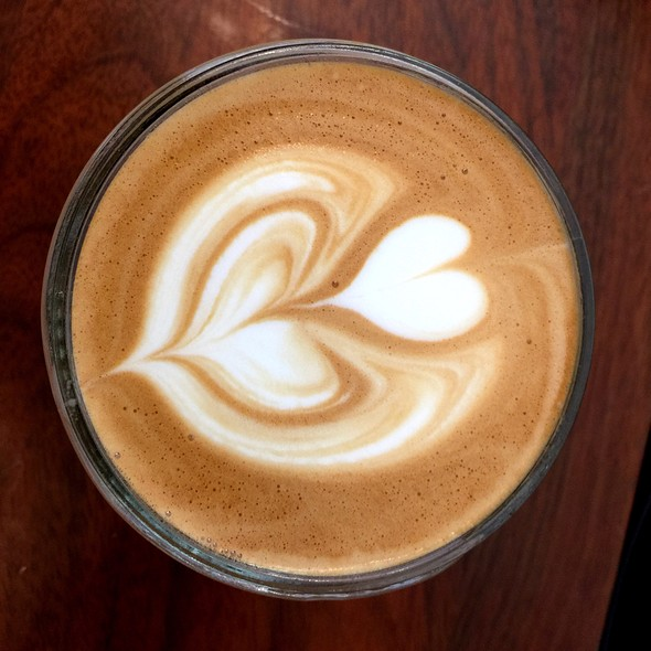 Caffe Latte @ Courier Coffee