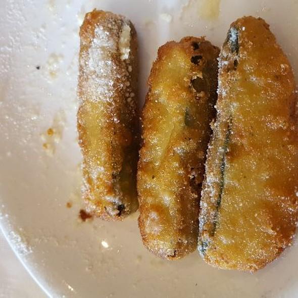 Zuchinni Parmesan