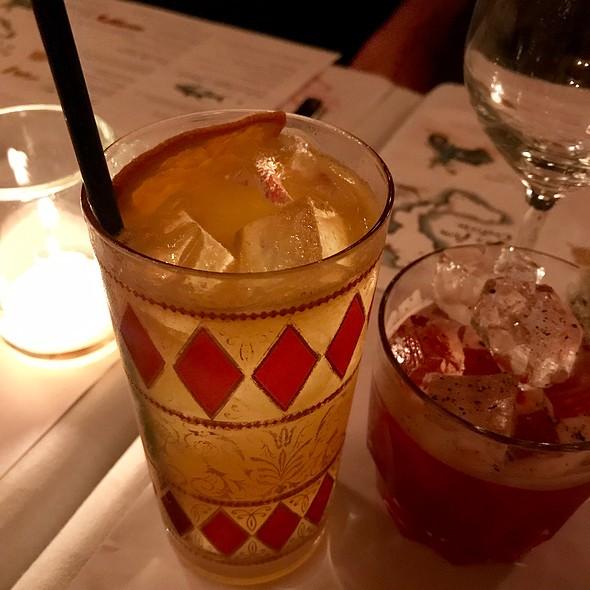 Cocktails @ Mina Test Kitchen