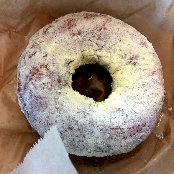 Orange Olive Oil Donut @ Blue Star Donuts