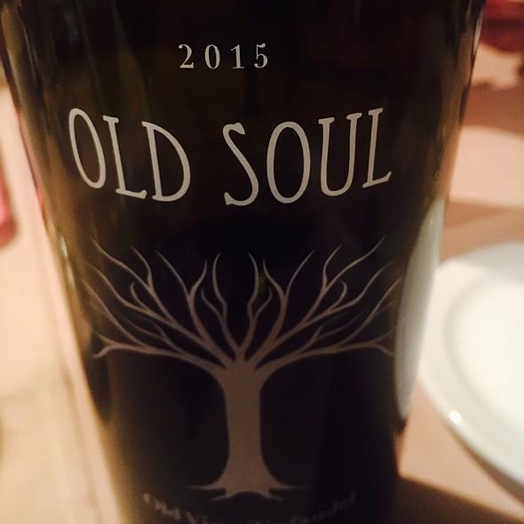 Old Soul Zinfandel