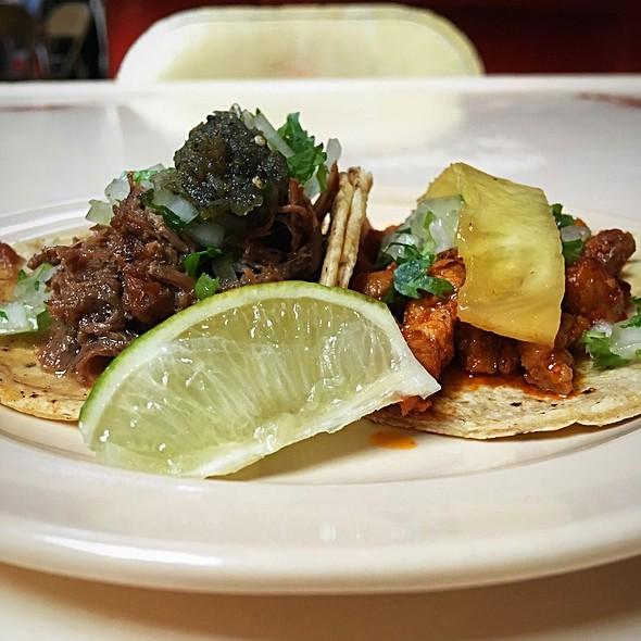 Barbacoa and Al Pastor Tacos @ Tacombi @ Fonda Nolita