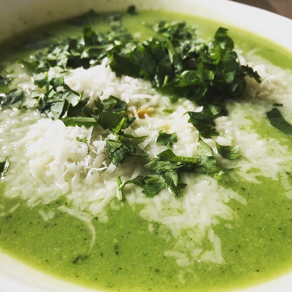 Courgette Soup @ Home