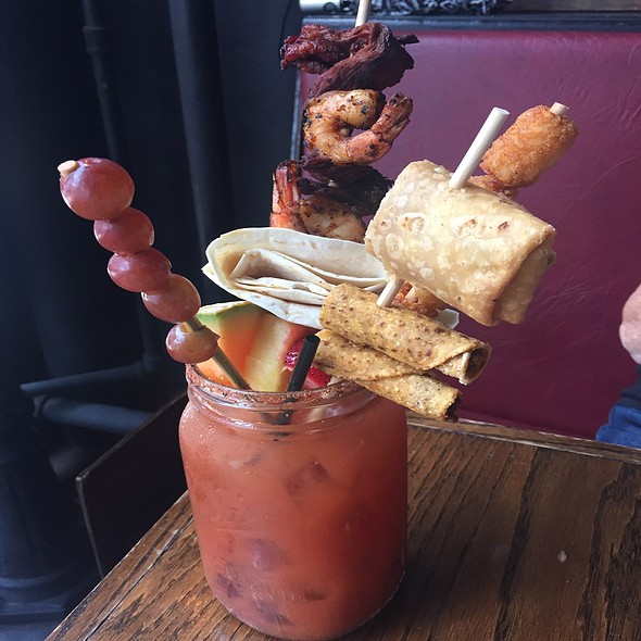 #1 The Bloody Mary With #3 Sangria Topper