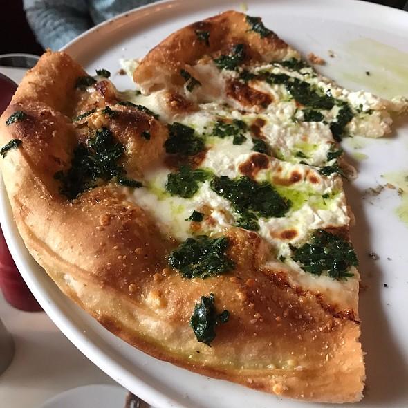 Ricotta And Walnut Pesto Pizza
