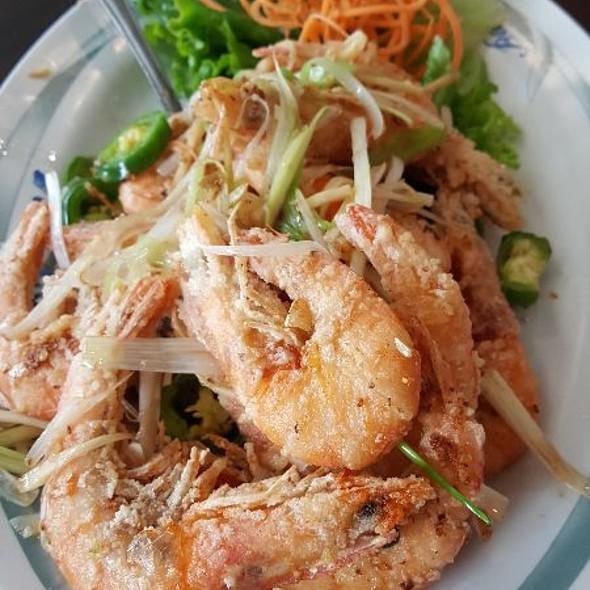 Salt Toasted Shrimp @ A Ly