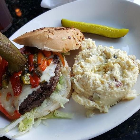 Three Pepper Burger