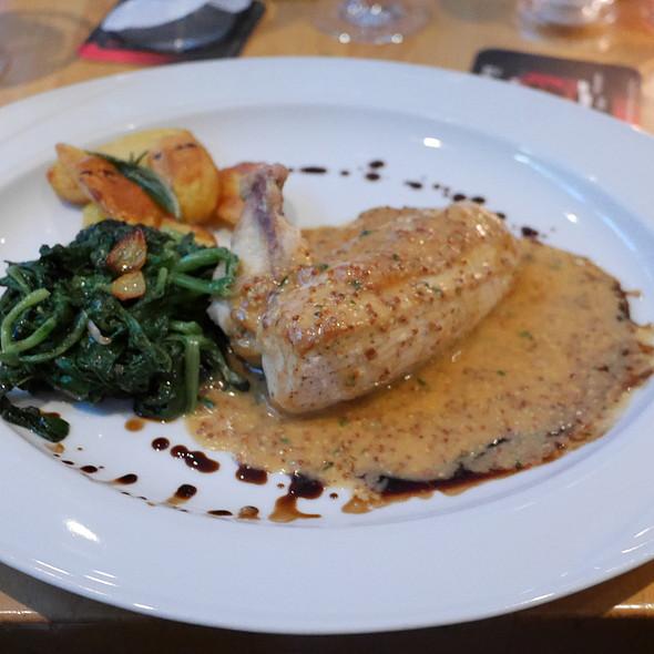 Kikok Chicken, Pommery Mustard Sauce