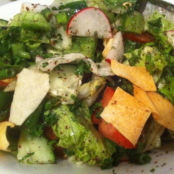 Fatoush Salad - Byblos Restaurant - Boston, Norwood, MA