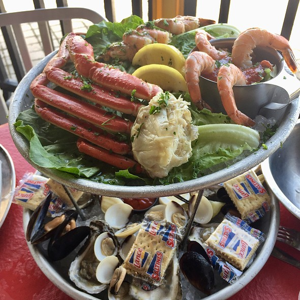 Cold Seafood Tower