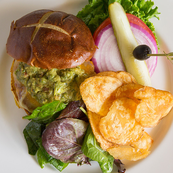 Turkey Burger @ Glenmorgan Bar & Grill