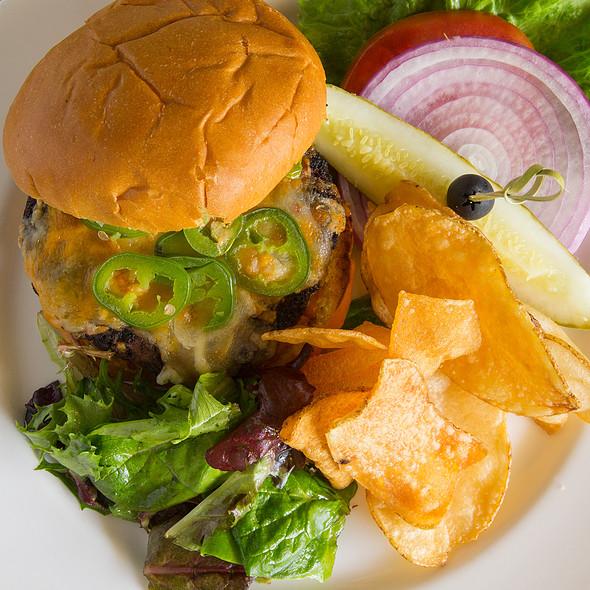 Lip Smacker Burger @ Glenmorgan Bar & Grill