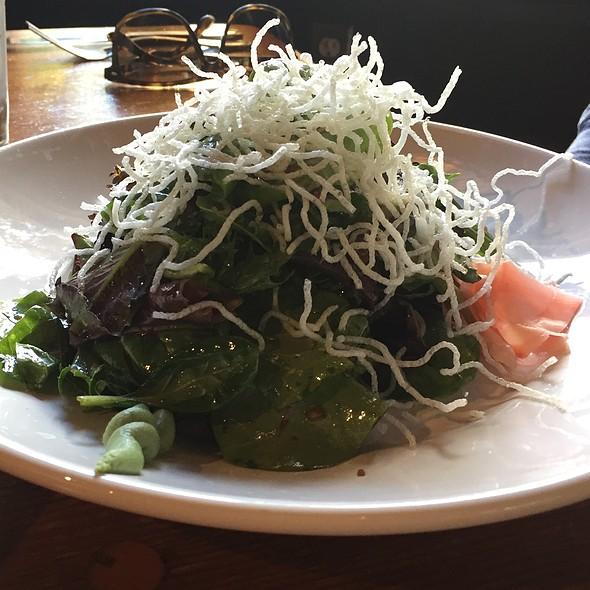 Seared Rare Ahi Tuna Salad @ Big Sur River Inn
