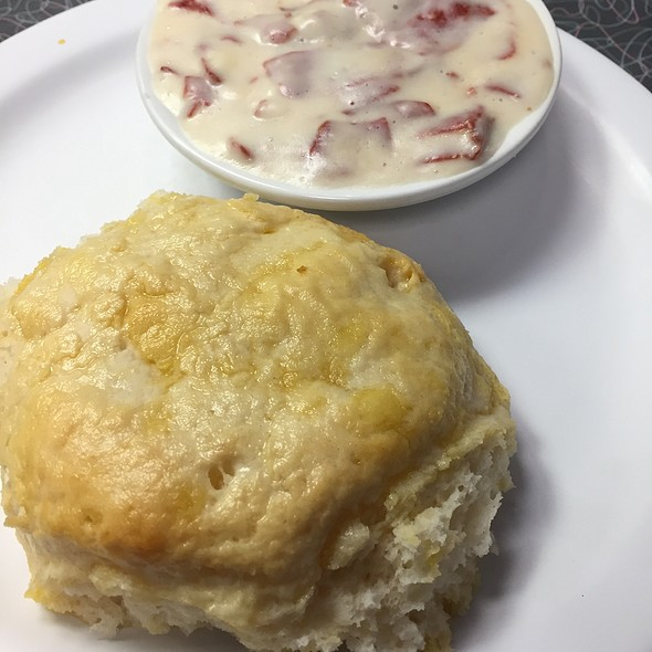 Biscuit And Chipped Beef