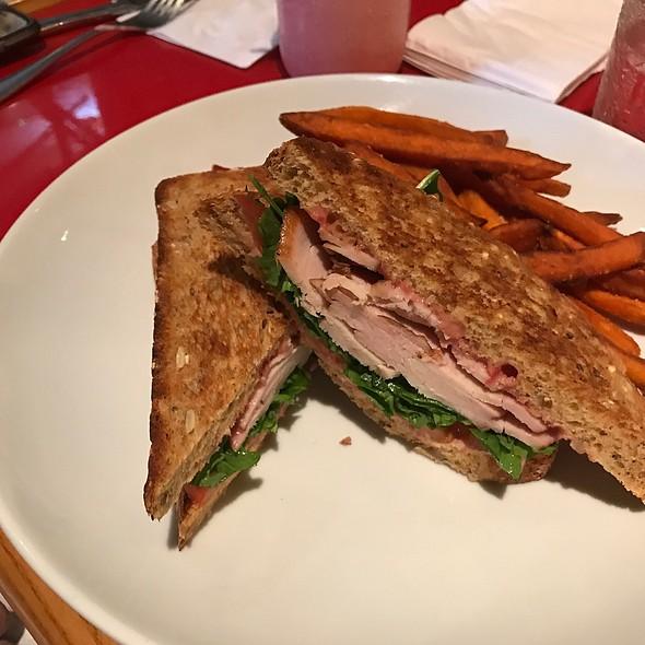 Applewood Smoked Turkey Sandwich @ Whispering Canyon Cafe