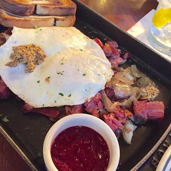 Corned Beef Hash and Eggs @ LuxBar