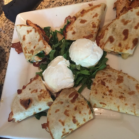 Chicken And Spinach Quesadilla