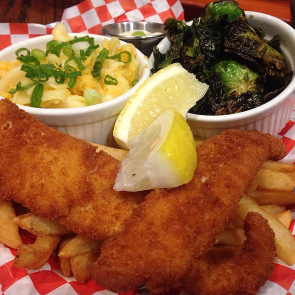 Fish & Chips @ Chelle's Seafood