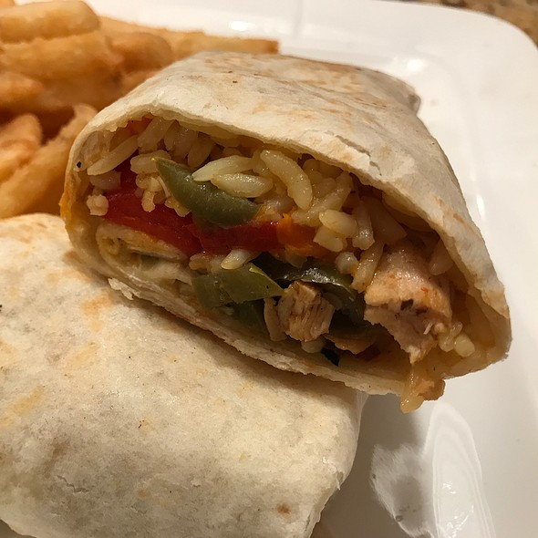 Tex Mex Wrap @ Eagle Diner