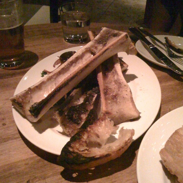 Bone Marrow And Toast @ Gilt Bar