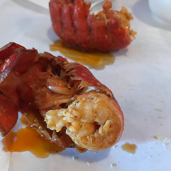 Lobster Tail @ The Angry Crab