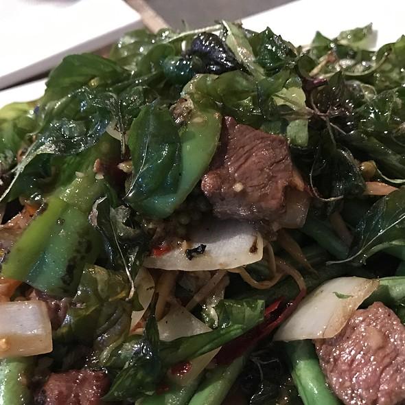 Five Spice Filet Mignon @ Kinnara Thai